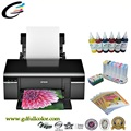 Printer Supplier A4 Sublimation Printer T50 for Tray / Tshirt / PVC / ID Card / CD Printing