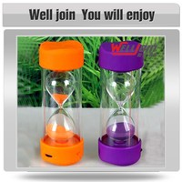 Wholesale sand glass bluetooth portable flat mini speakers