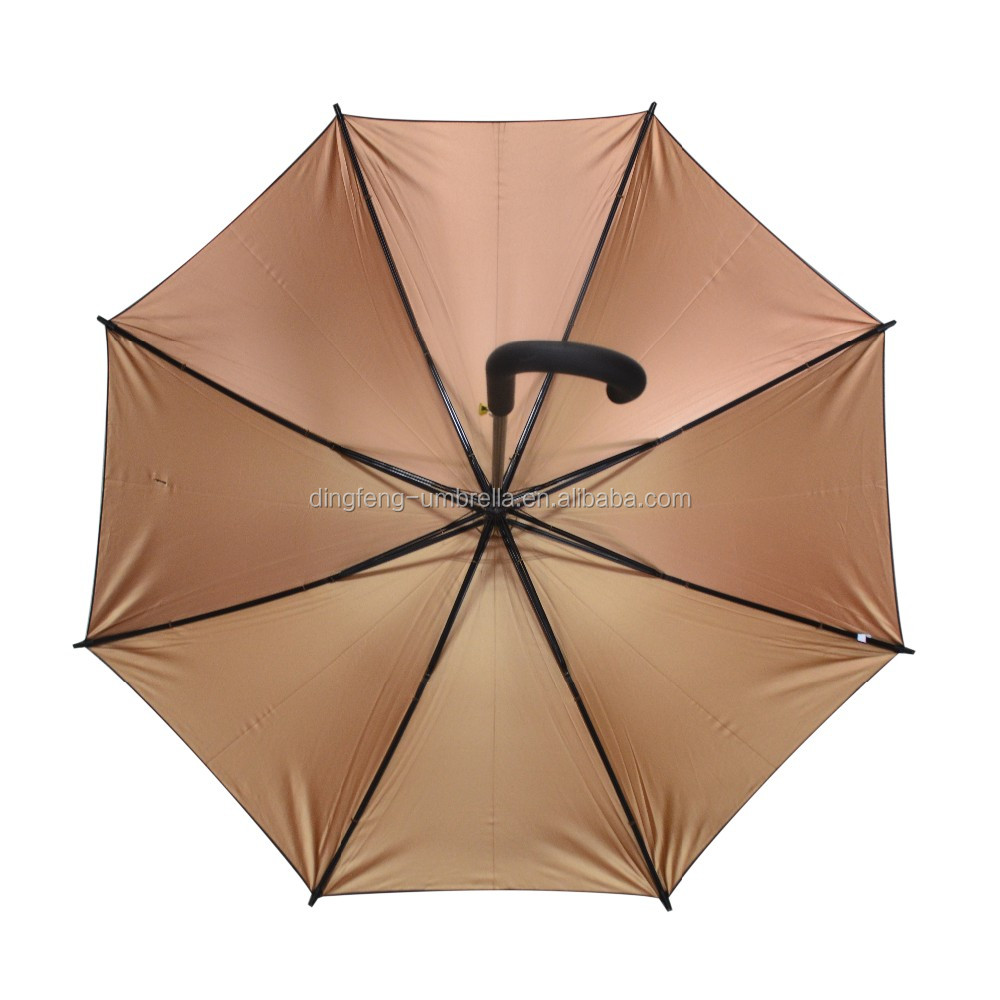 Classic Customized Logo Plaid Straight Umbrella made in guangdong