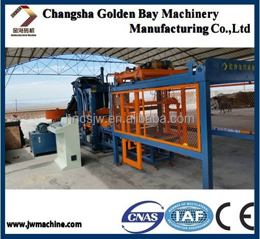 interlock paver making machinery, vibrating table concrete for paver, QTY3-18 concrete block machine for produce block