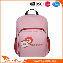 Latest pink trend flower pattern funny school backpacks