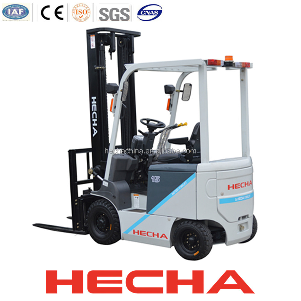 Competitive price 1500kg electric forklift heli cpd Motorized forklift
