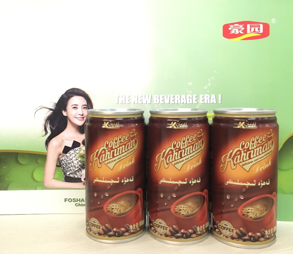 Delicious Premium hot filling 180ml Slim CAN Milk Ice Coffee