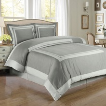 100% cotton luxury 5 star hotel bed linen set