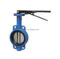 D371J Eccenric soft sealing wafer butterfly valve dn50-dn400