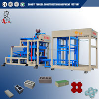Small Hollow And Interlock Blocks Equipment Manual Brick Making Machine For Sale