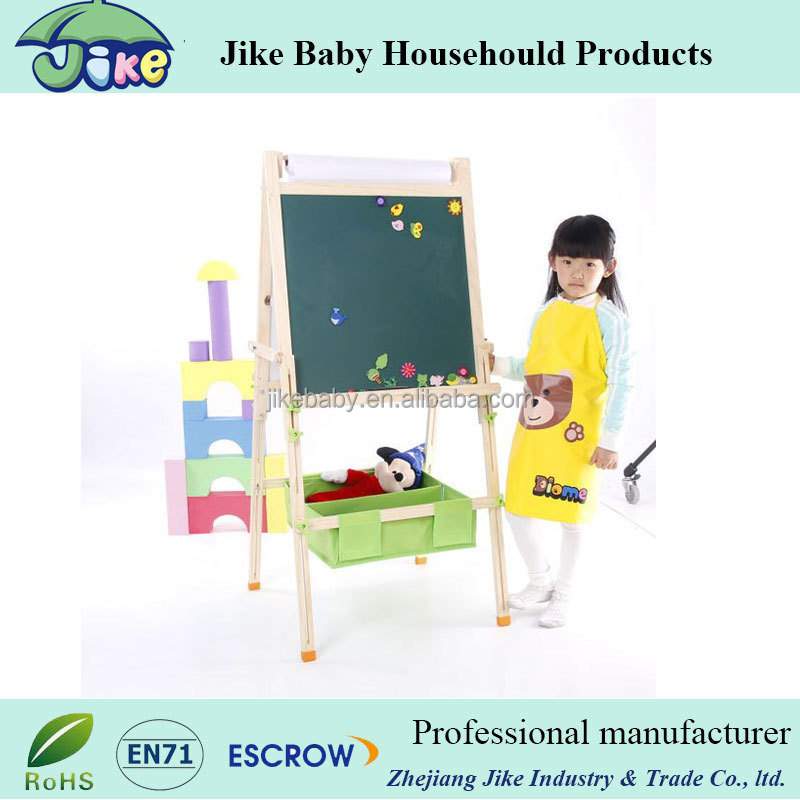 wooden kids drawing board erasable magnetic writing board for child