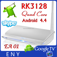 RK3128 quad core A7 1.2GHZ Android TV box EA01 satellite receiver software download