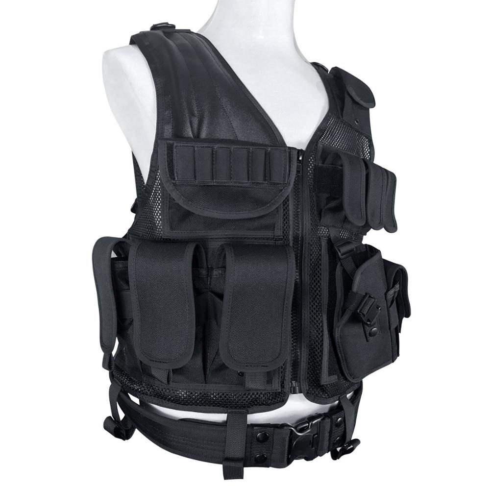 Army Fans Tactical Vest Cs Field Outdoor Equipment Supplies Breathable Lightweight Special Forces Combat Training Vest