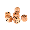 High quality wooden custom dice for game