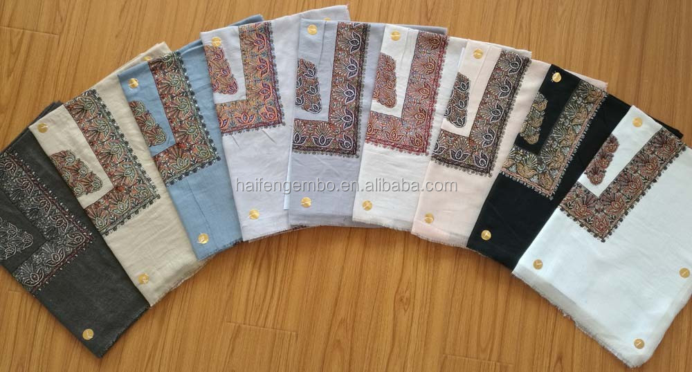Saudi Arab Yemen stock embroidered scarf cheap for men