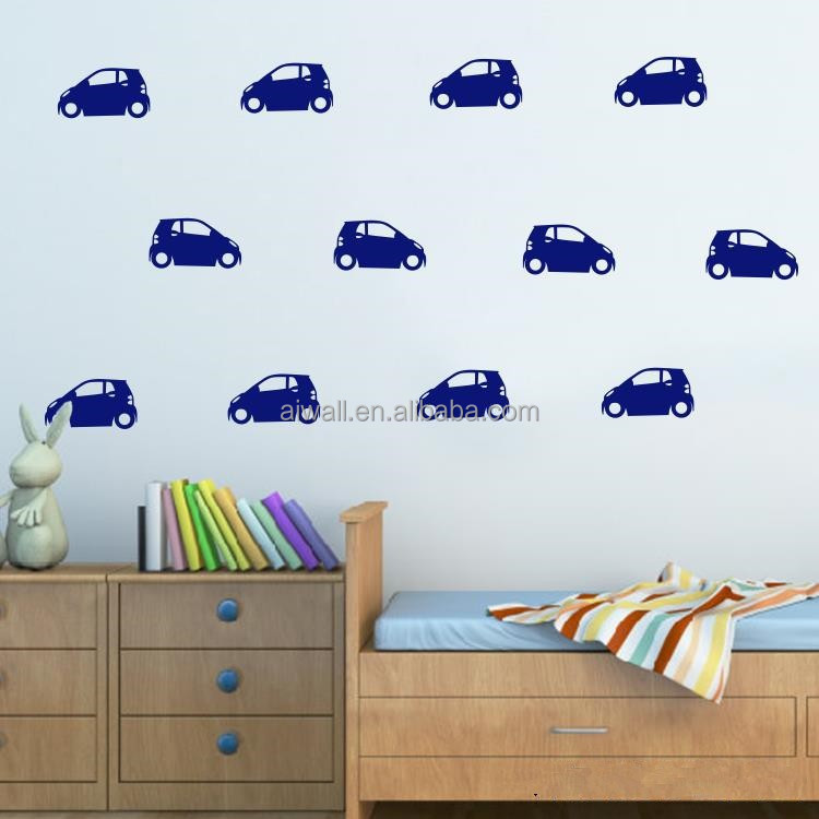<strong>C</strong>-<strong>010</strong> Cars Cartoon Wall Stickers Vehicle Wall Decal for Kids Room