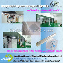 mirror plastic film, plate.nkjet plate making film