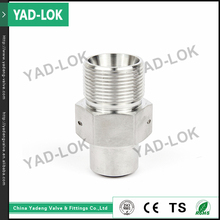 YAD-LOK 10000PSI Female & Male Threaded Flexible Insert Couplings Fitting Pipe Nipple