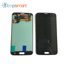 China mobile phone LCD display touch screen repair digitizer assembly for s5