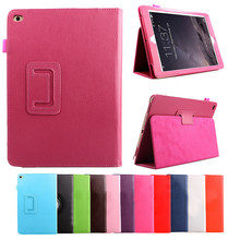 Top Selling Products in Alibaba 7.9 inch Leather Folding Folio Tablet PC PU Leather Case Cover for iPad Mini 4