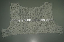 2014 new design 100% cotton handmade crochet fashion shawl for womens