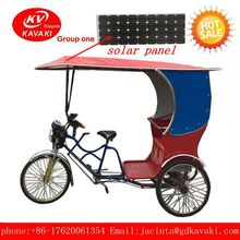 factory sale solar panel passenger electric tricycle fast and loud 3 wheel motorized bike for adult/ 3 wheel motorized bike