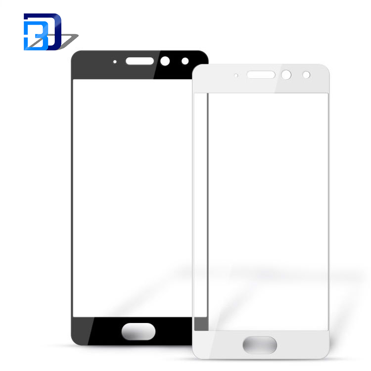 0.33mm ultra thin tempered glass 2.5D full screen silk HD anti-fingerprint tempered glass protector for Meizu pro7 pro7plus