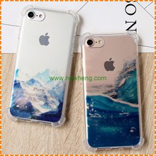 Creative Natural landscape painting cell phone cases for Iphone 7 7 plus