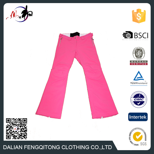 OEM Colourful Sport Trousers Waterproof Ski Pants