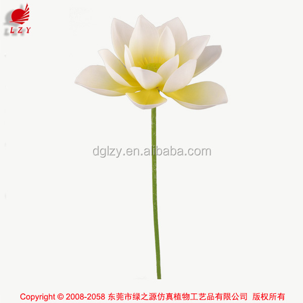 Nearly Nature Real touch Artificial Lotus for Indoor and Outdoor Decoration
