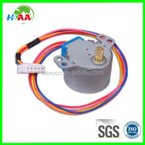 Custom worm gear stepper motor DC 24v step motor reduction