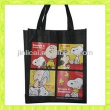 PP Woven supermarket eco-friendly Snoopy bag