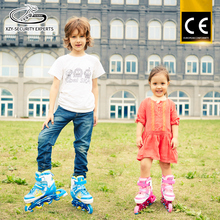 Wholesale Inline Skate PU Wheel Three Years Old Girl Roller Skates Adjustable Shoes