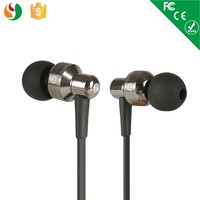 Disposable earphones cheap price flat wired earpiece for mobile phone