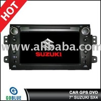 7 inch car dvd player speical for SUZUKI SX4 with high resolution digital touch screen ,gps ,bluetooth,TV,radio,ipod