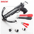 junxing sports 28lbs black multifunction pistol crossbow for fishing factory Price