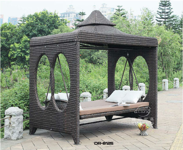 2016 popular rattan furniture luxury pe rattan wicker for Luxury garden furniture