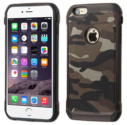New camouflage design hybrid phone cover for apple iphone5S