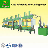 Motorcycle Hydraulic Curing Press Vulcanizing Rubber Machine