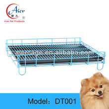 Factory supplier pet cage Folding Portable Travel Crate Metal Tray