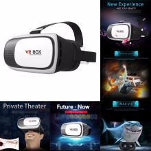 Christmas Gift VR BOX 2.0 VR Headset Virtual Reality Glasses 3D VR Box with Remote