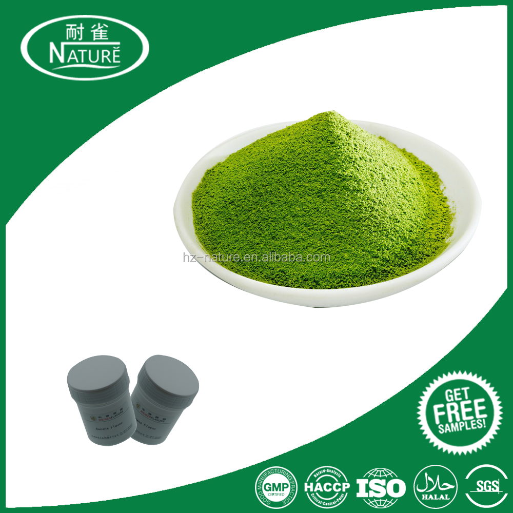 Green tea powder for bubble tea, milk tea and so on