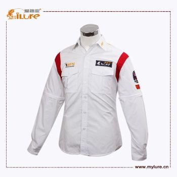 Fast Delivery Wholesale Tournament Plain Fishing Shirts