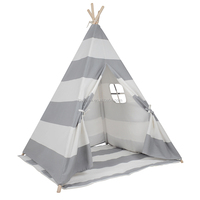 Lovetree CE Approved Childs Cotton Canvas Tents Teepee for Camping
