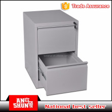 BAS-002-2D unique design steel office furniture 2 drawer file storage cabinet with key lock