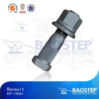 Renault High Tensile Wheel Hub Bolt and Nut,Wheel Stud For Trucks,Export Auto Hub Bolt And Nut