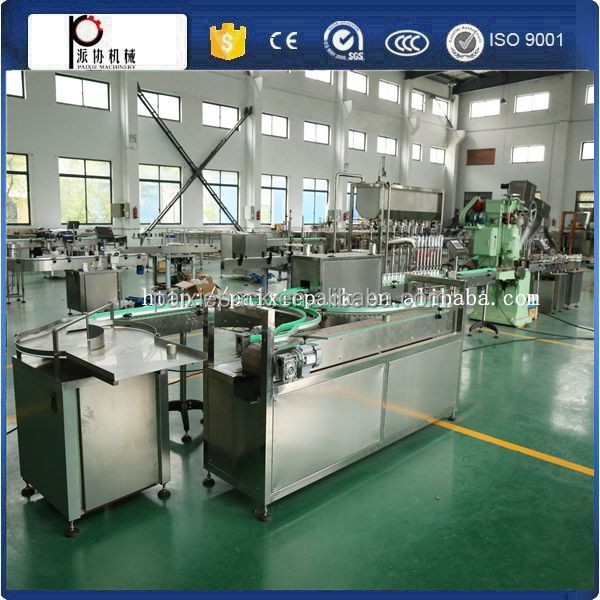 (Have video)automatic small bottle easy open can sealing machine for food packaging from shanghai paixie