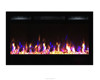 "36"" new sideline flame electric fireplace heater"