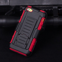 Dual Layer Armor Defender Hybrid Holster Protective Case Cover For iPhone 5C