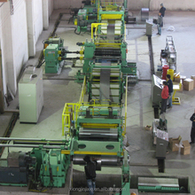High productivity vertical steel slitting machine