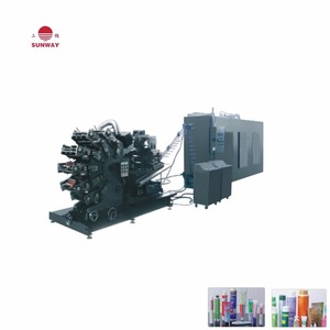 Multi color Tube Rotating Printer Equipment