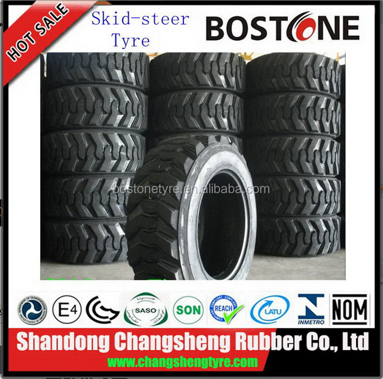 Alibaba china latest durable pneumatics otr skid steer tires