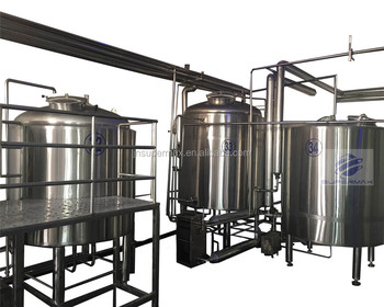 1000L commercial beer brewing plant stainless steel brewhouse And Conical Fermenter For pub Brewery Machinery