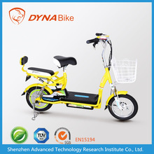 2015 EEC cute cheap adult electric hybrid moped with 2 seats 48v 350w
